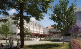 Le futur Food Court de Strasbourg va trouver sa place au sein du nouveau quartier de la COOP.