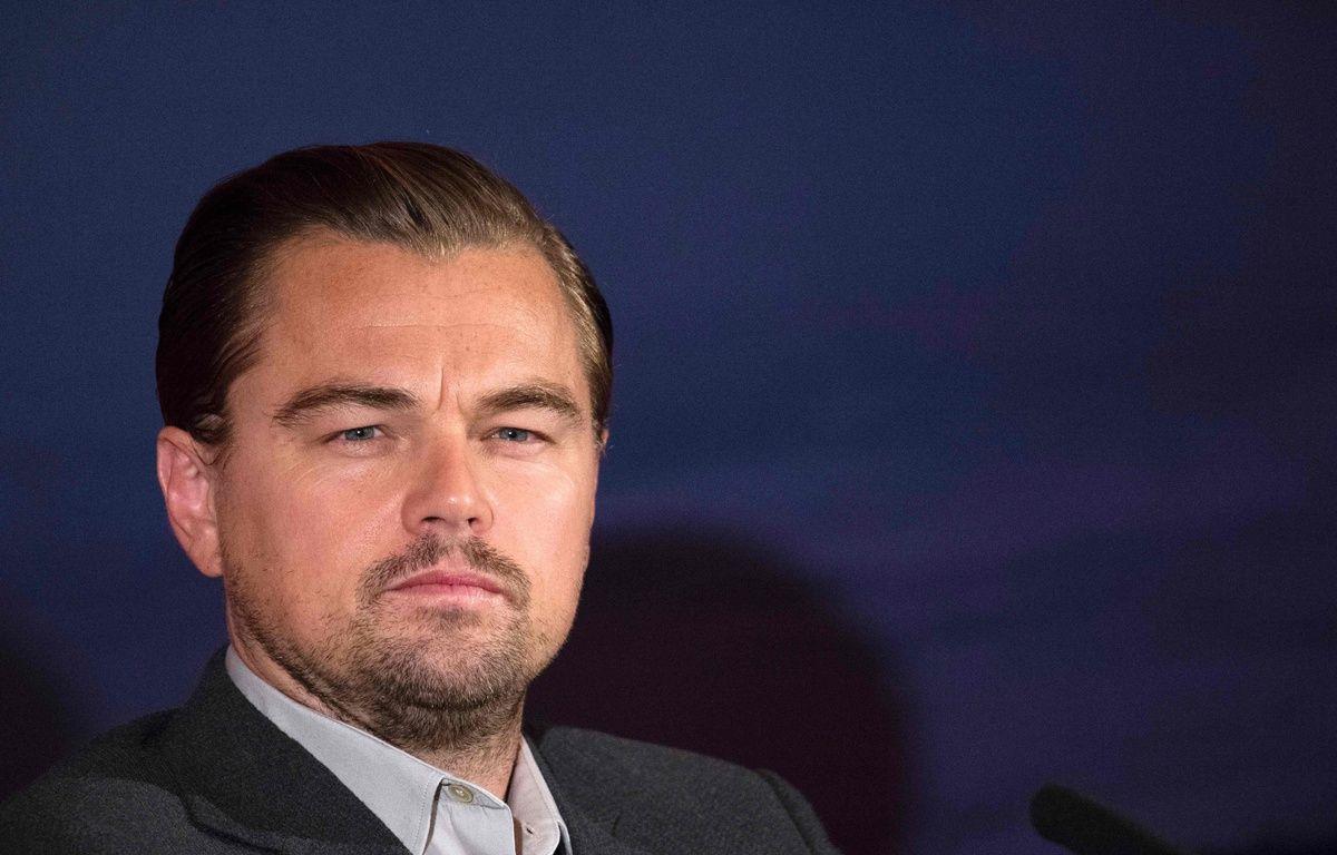 Leonardo DiCaprio à la conférence de presse de «The Revenant» à Paris, le 18 janvier 2016. – AFP
