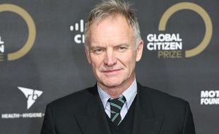 Le chanteur Sting