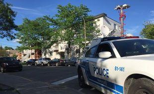 La police canadienne (ici à Montréal).