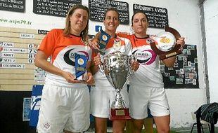 Les filles de Montpellier, sacrées ce week-end en coupe à Niort.