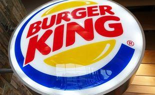 L'enseigne du géant américain de fast-food Burger King.