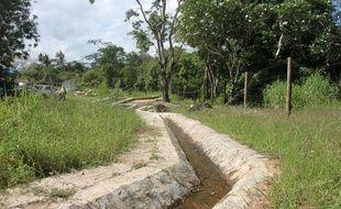 Le système d'adduction d'eau de Marere, au Kenya, le 17 novembre 2014.
