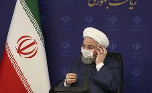Le président iranien Hassan Rohani à Téhéran le 18 juillet 2020.