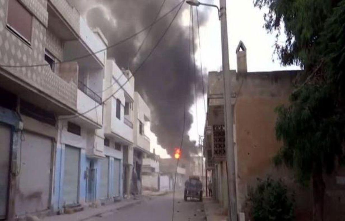 Dix-huit personnes ont péri dans la nuit de vendredi à samedi, dont douze civils dans la province de Damas, pilonnée par les troupes du régime en Syrie, rapporte l'Observatoire syrien des droits de l'Homme (OSDH). –  afp.com