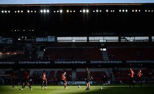 Le Roazhon Park de Rennes en août 2015.