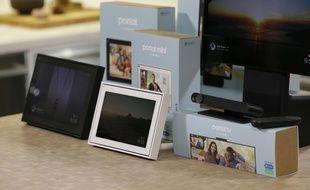Les trois nouveaux modèles de Facebook Portal : le basique, le Mini et le TV.