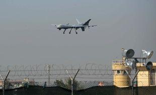 Un drone américain atterrit à l'aéroport de Jalalabad, en Afghanistan (illustration).