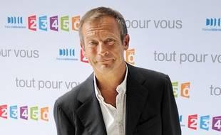Le présentateur télé Laurent Bignolas.