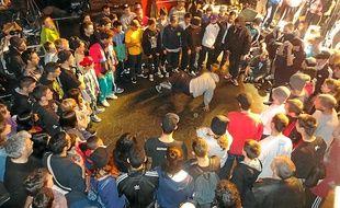 Une battle de breakdance était organisé ce dimanche à l'Ampérage.