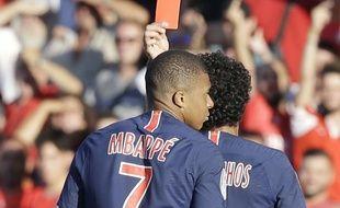 Mbappé a été exclu contre Nîmes.