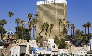 L'hôtel Trump à Las Vegas.