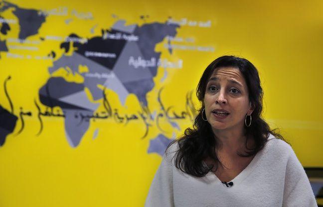 Lynn Maalouf, directrice adjointe pour la Recherche au bureau d'Amnesty à Beyrouth.