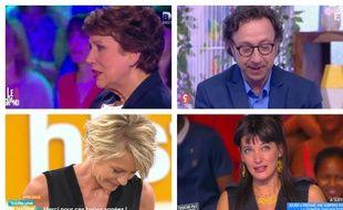 Roselyne Bachelot, Stéphane Bern, Erika Moulet et Sophie Davant ont faire leurs adieux aux téléspectateurs