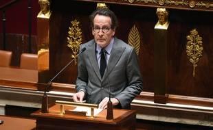 Le député (LREM) Gilles Le Gendre, en avril 2020, à l'Assemblée nationale.