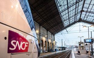 La gare de Lyon-Perrache.