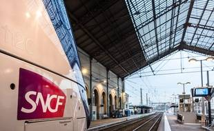 Un TGV en gare de Lyon Perrache (image d'illustration).