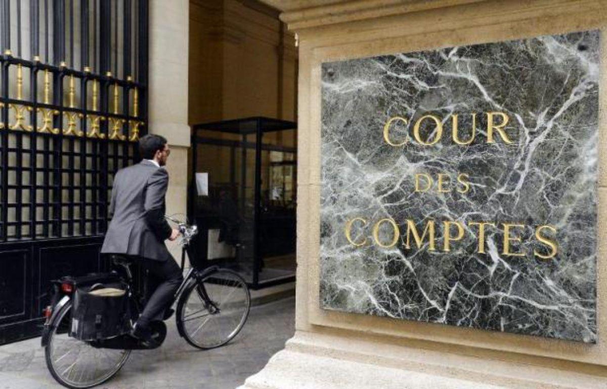 L'entrée de la Cour des Comptes le 17 juin 2014 à Paris – Bertrand Guay AFP