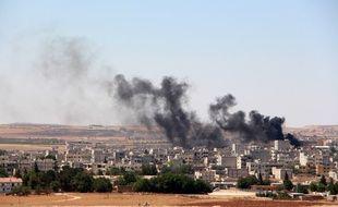 La ville de Kobané, en Syrie, théâtre du conflit qui oppose l'armée régulière et les rebelles