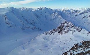 Le glacier de Pitztal, en Autriche (illustration).