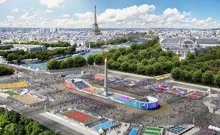 La course se déroulera autour sur la place de la Concorde, où75.000 m2 seront dédié au sport avec près de 30 disciplines olympiques représentées.