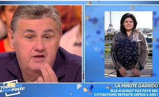 Pierre Ménès adresse un coup de gueule à Raquel Garrido dans «TPMP» le 4 octobre 2017.