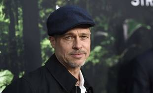 Brad Pitt à la première du film «The Lost City of Z», avril 2017