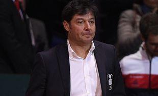 Sébastien Grosjean, nouvel entraîneur de l'équipe de France de Coupe Davis