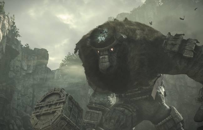 Le point faible du colosse apparaît ! Portez le coup fatal pour terrasser le titan.