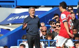 L'entraîneur de Chelsea José Mourinho, le 22 mars 2014, contre Arsenal.
