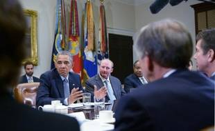 Le président américain Barack Obama à la Maison Blanche le 19 octobre 2015