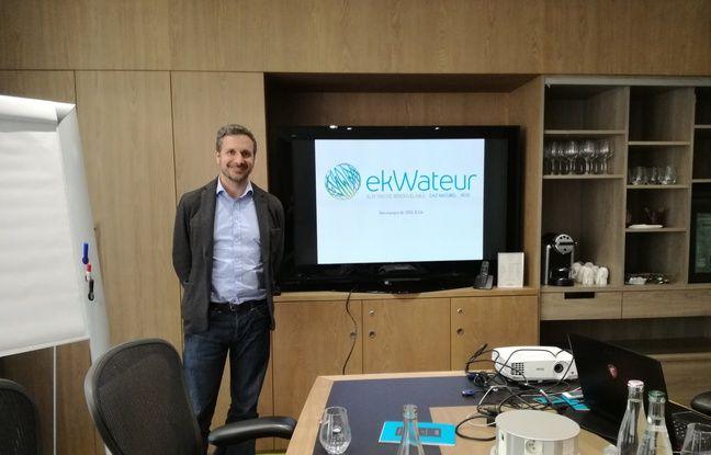 Julien Tchernia, cofondeur et président du fournisseur d'énergie alternatif Ekwateur.