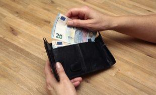 Des billets d'euros (Illustration).