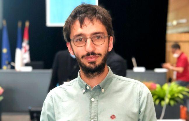 Tristan Riom, adjoint au maire en charge de l'énergie et bâtiments.