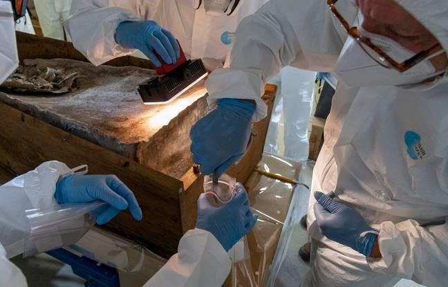 Le travail d'analyse des restes retrouvés va se poursuivre en 2021.