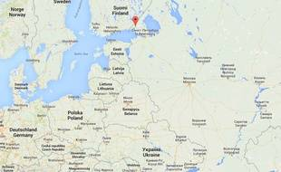 Localisation de Vyborg en Russie