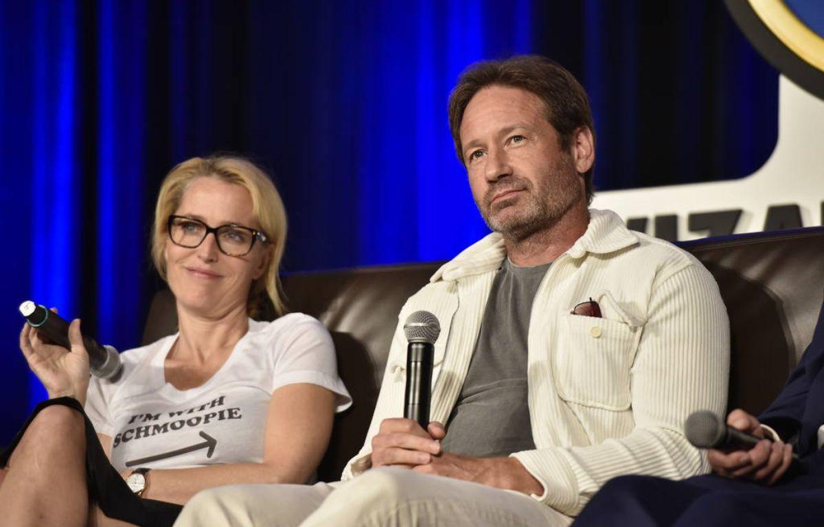 Les acteurs Gillian Anderson et David Duchovny à la Wizard World Comic Convention – WENN