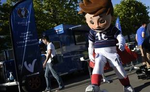 Victor, la mascotte de l'Euro 2016