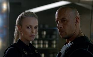 Charlize Theron et Vin Diesel dans Fast and Furious 8 de F. Gary Gray