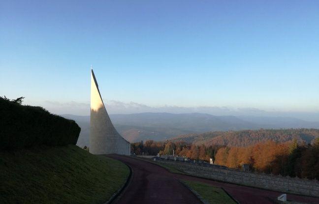 Le Mémorial du Struthof surplombe la vallée de la Bruche.