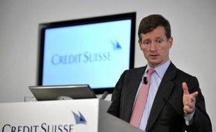 L'ex-directeur général Américain Brady Dougan, le 22 juillet 2010 à Zurich