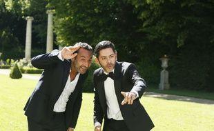 Gilles Lellouche et Manu Payet dans Sous le même toit de Dominique Farrugia