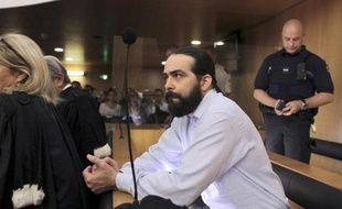 Sylvain Jouanneau, le père de Mathis, au tribunal de Caen le 3 juin 2015