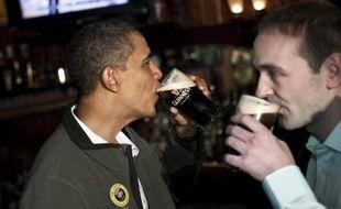 Pour nombre des habitants de Moneygall, le petit village irlandais où vécut un des ancêtres de Barack Obama, la réélection du président américain démocrate n'est pas seulement un souhait, c'est une nécessité.