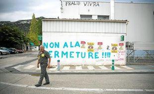 L'usine Fralib de Gémenos est occupée par les salariés depuis la semaine dernière.