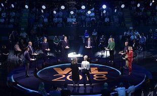 Les candidats aux législatives suédoises en plein débat