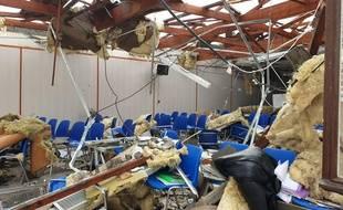 Des toits ont été arrachés sur la commune d'Orleix ce lundi matin, dans les Hautes-Pyrénées.