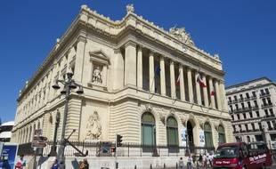 Le siège de la chambre de commerce et d'industrie Marseille Provence