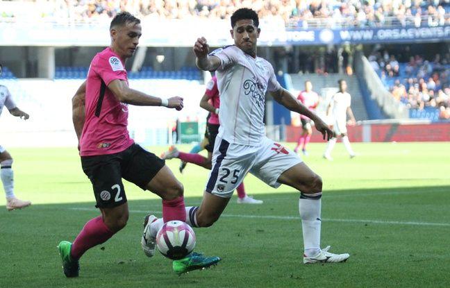 Ruben Aguilar, en duel avec le Bordelais Pablo, apporte offensivement dans son couloir droit où i la déjà délivré deux passes décisives à ses attaquants cette saison.