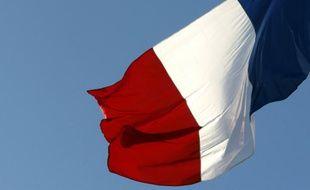 Le drapeau national français.